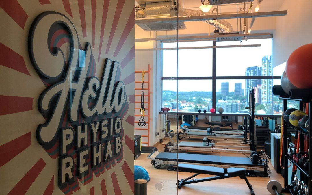 "HelloPhysio Rehab Studio Opens with New LightSpeed Lift ""Anti-Gravity"" System"
