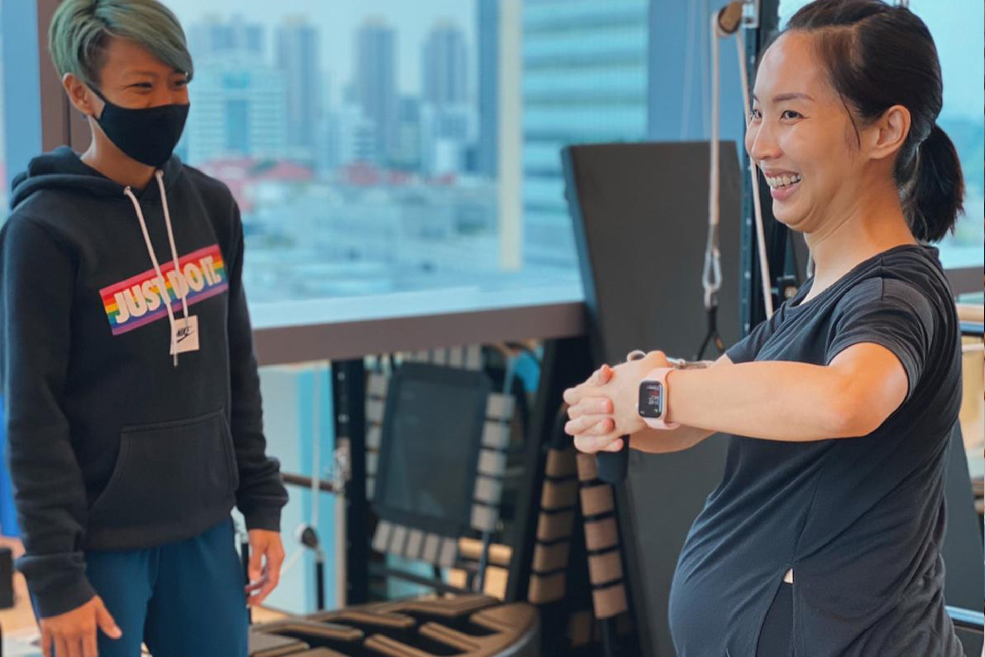 pre-natal clinical pilates in Singapore